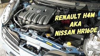 Двигатель Renault H4M (1,6 )/ Nissan HR16DE (1,6 ) - Крепкий Середнячок