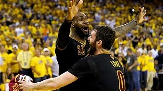 LeBron James Posts Triple-Double in 2016 NBA Finals Game 7 Win