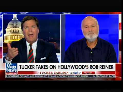 EPIC! Tucker Carlson Destroys Leftie Hollywood Hack Rob Reiner Over Crazy Russia War Ad