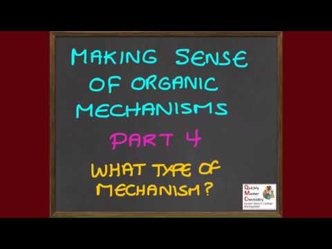 CD: Making Sense of Organic Mechanisms 4 - Identifying the Mechanism