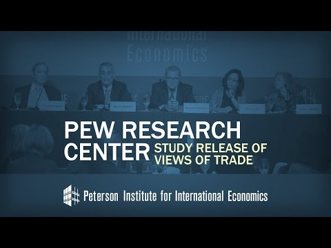 Pew Research Center Study Release of Views of Trade