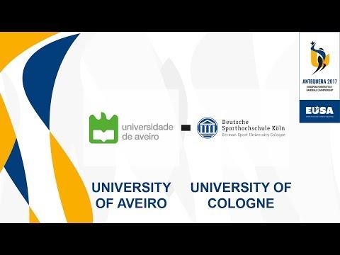 University of Aveiro vs German Sport U. Cologne, Female Finals - EUC Handball 2017