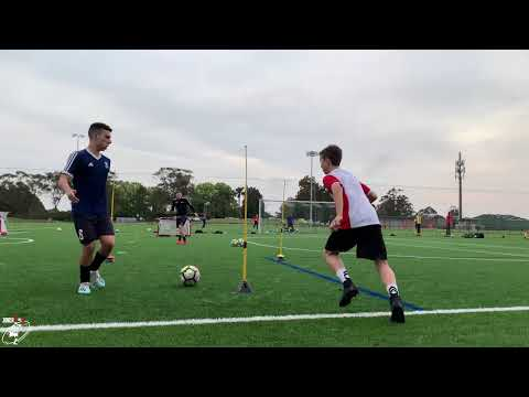 2 Very Talented Young Players | Loads Of Soccer Drills | Full Training Session | Joner 1on1