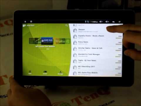 Latest ZeniThink Z102 ZePad Android 2 3 Cortex A9 Tablet GPS 3G WIFI