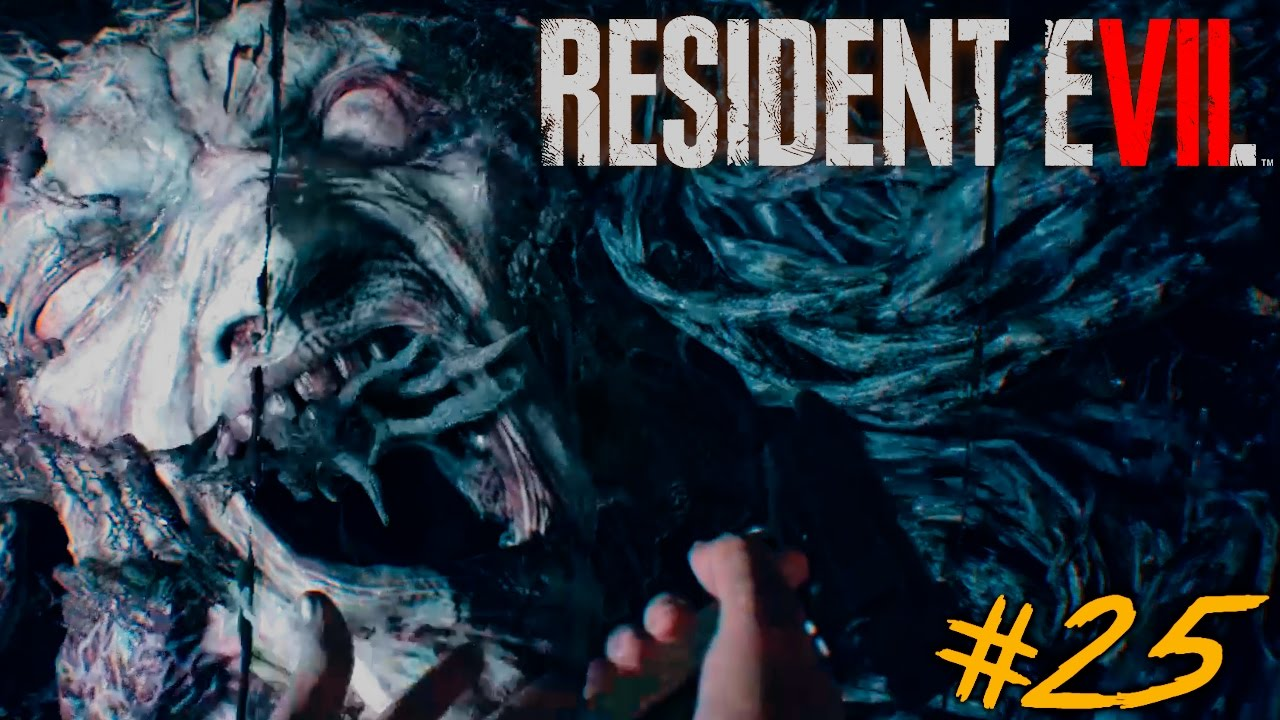 das gro e finale resident evil 7 lets play 25 facecam youtube. Black Bedroom Furniture Sets. Home Design Ideas
