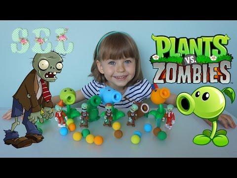 Растения против зомби из пластилина 2 часть