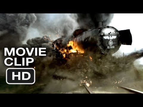 Red Tails Movie Clip #1 - Train Attack (2012) HD
