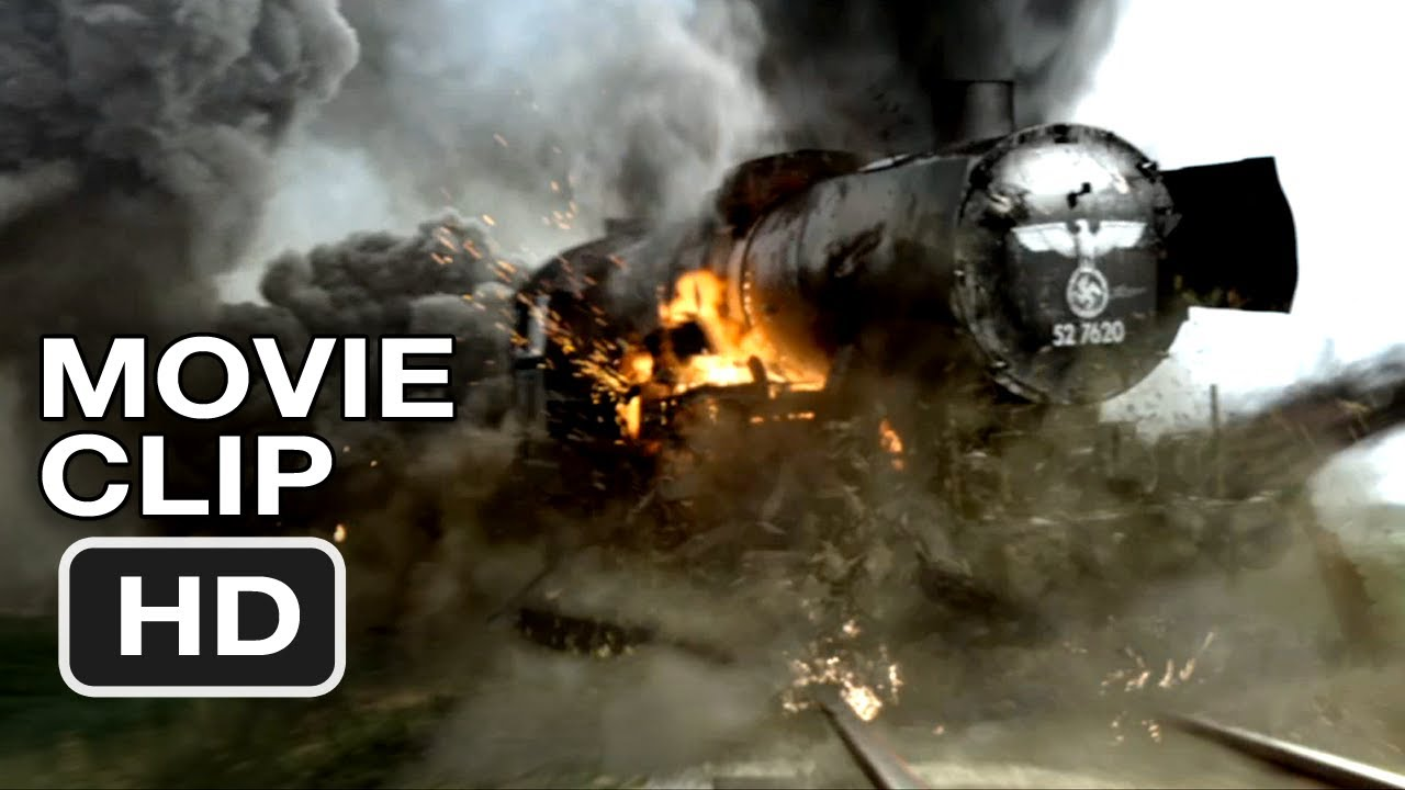 Red Tails Movie Clip #1 - Train Attack (2012) HD - YouTube