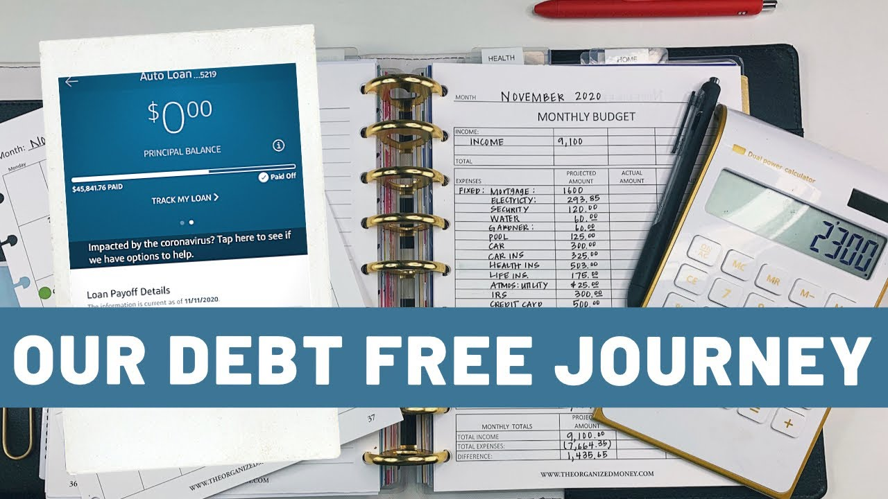 Our Debt Free Journey Update