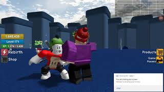 Random Roblox Bullshit With Bigrexy10!!!