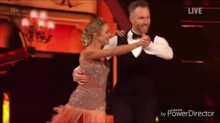 James Jordan and Alexandra Schauman skating in Dancing on Ice (6/1/19)