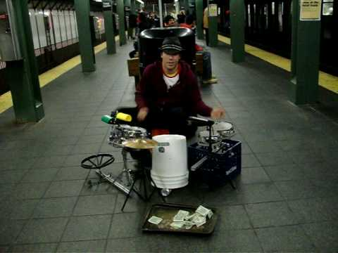Drummer Mike Alaska & The #KONYH Times Square !!