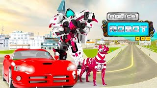 US Police Dog Robot Transform Cop Game ( By Autobots Games ) | Android Gameplay | Droidnation