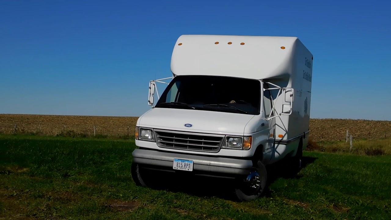 7c79263196 1996 Ford E 450 Super Duty Box Truck - YouTube