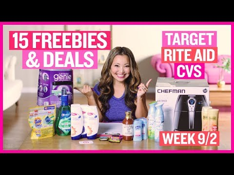 ★ 15 FREEBIES & Deals Target, Rite Aid, & CVS Coupon DEALS (Week 9/2 – 9/8)