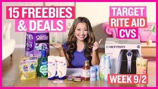 ★ 15 FREEBIES & Deals Target, Rite Aid, & CVS Coupon DEALS (Week 9/2 – 9/8)