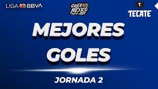 Mejores Goles Jornada 2 |Liga BBVA MX | Grita Mexico A 21