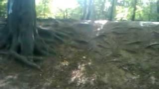 @j7m doing Scott's Bombhole. Epping. Mtb