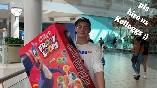 Making the world a happier place one Giant Froot Loop at a time