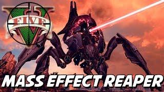 GTA V – ATAQUE ALIEN! Mass Effect 3 Reaper MOD