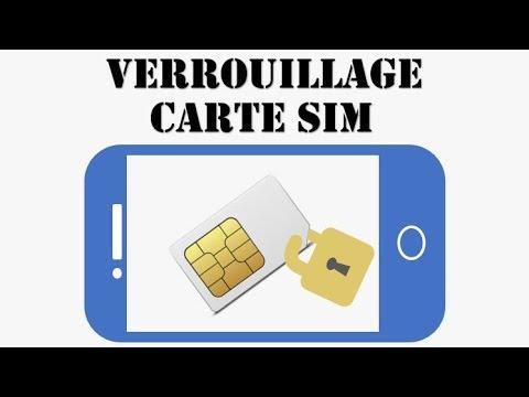 Verrouillage Carte Sim Changer Le Code Pin D Une Carte Non