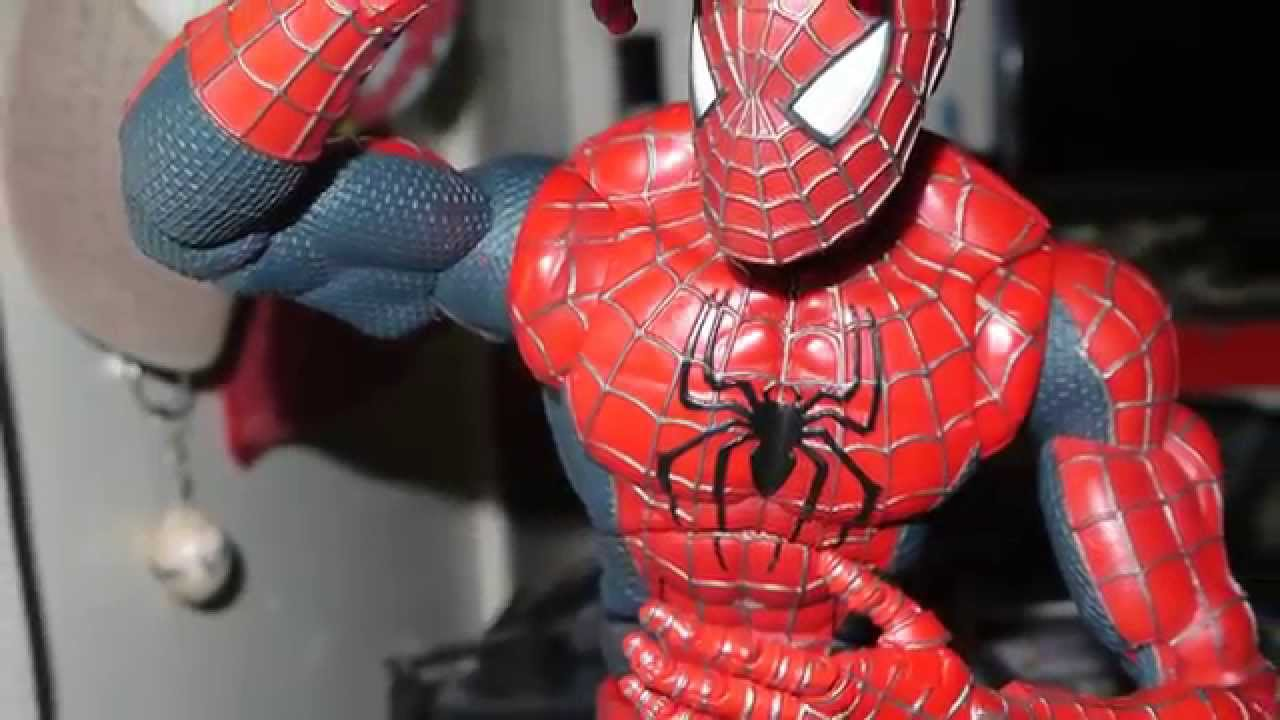 18 Inch Spider Man 2 Toy : Spider man action figure with points of articulation