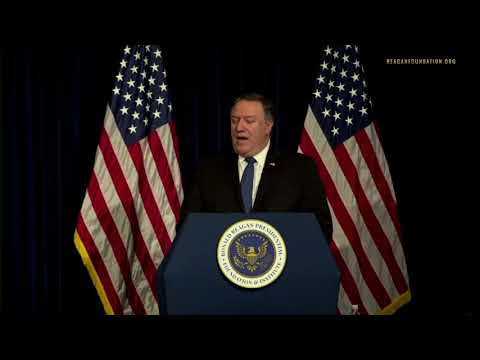 Pompeo: Iran Leaders Are 'Hypocritical Holy Men'