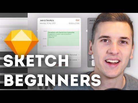 Sketch Basics: IOS & Material UI Kits