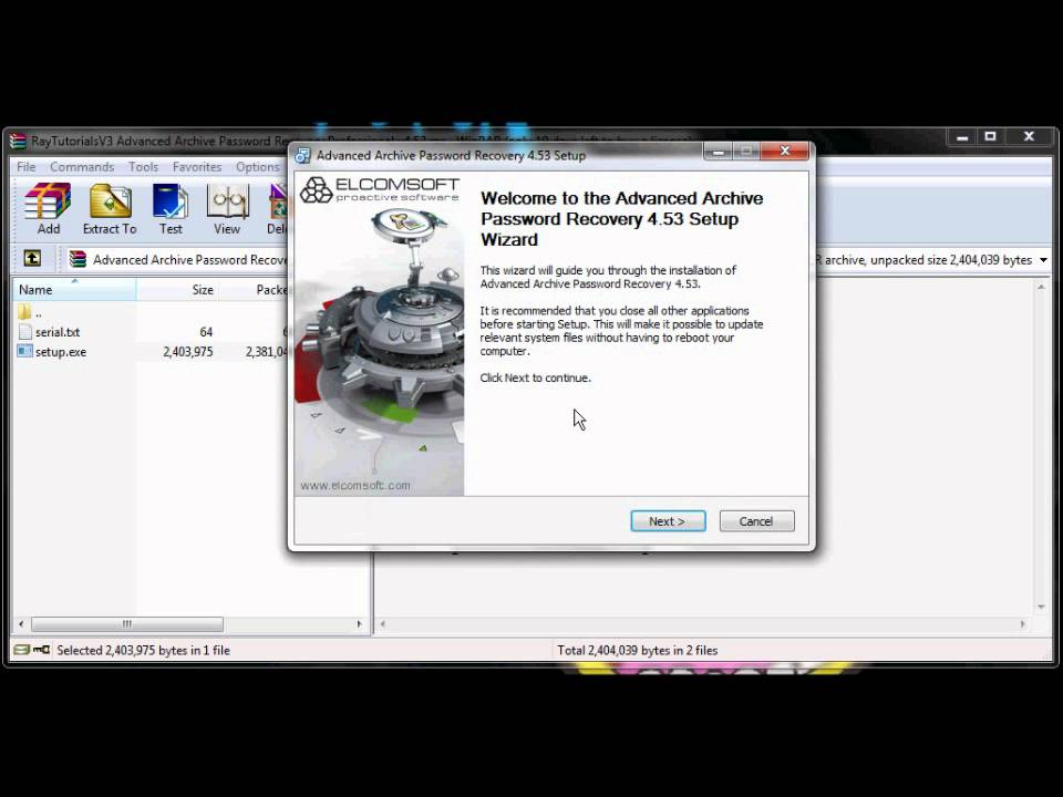 How To Open Winrar Password Protected Files - YouTube