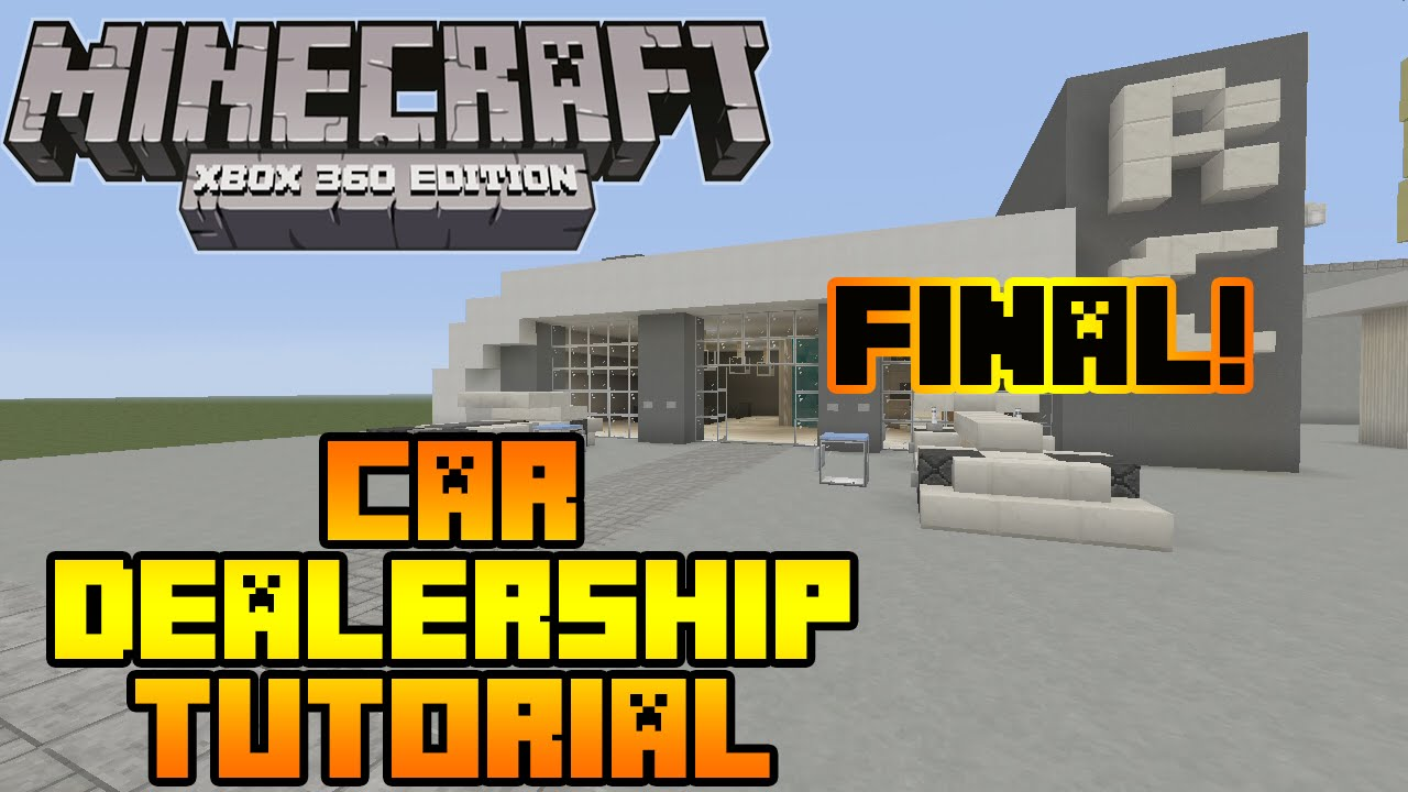 how to make a car in minecraft ps3