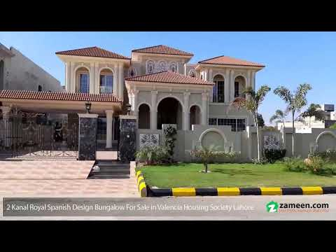 2 KANAL BRAND NEW HOUSE FOR SALE IN VALENCIA HOUSING SOCIETY LAHORE