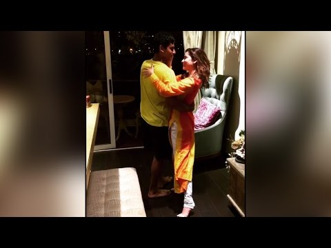 Ankita Lokhande dancing her way with brother Aditya, Watch video |Filmibeat
