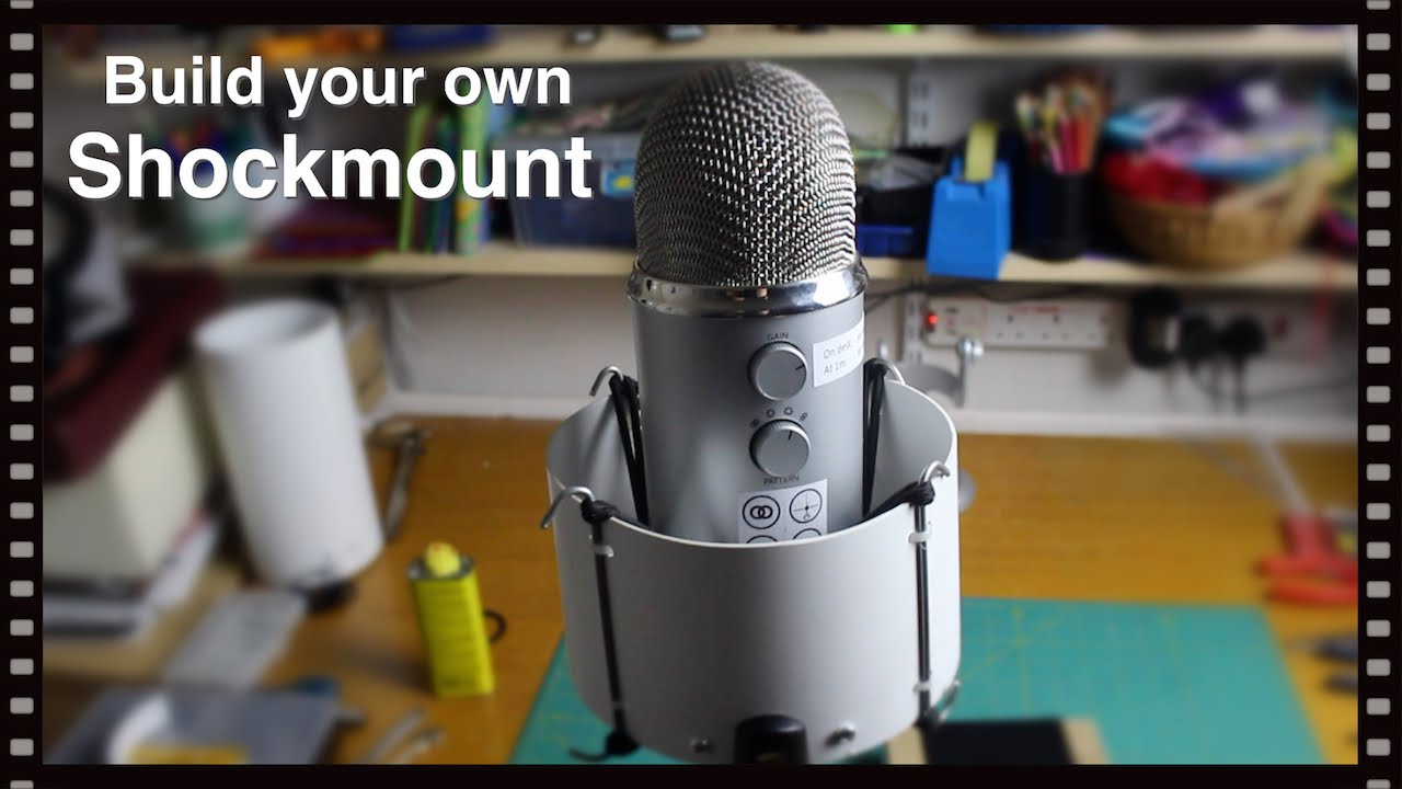 Build Your Own Shockmount For A Blue Yeti Microphone