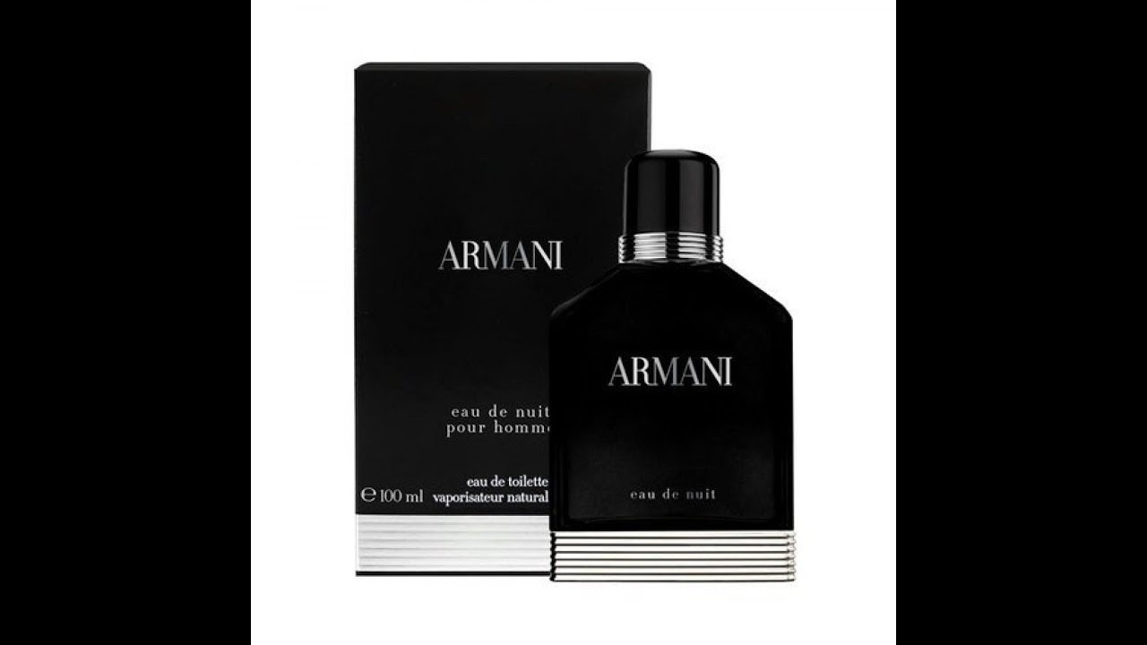 4350f6776 Giorgio Armani Eau de Nuit fragrance Review (2013) - YouTube