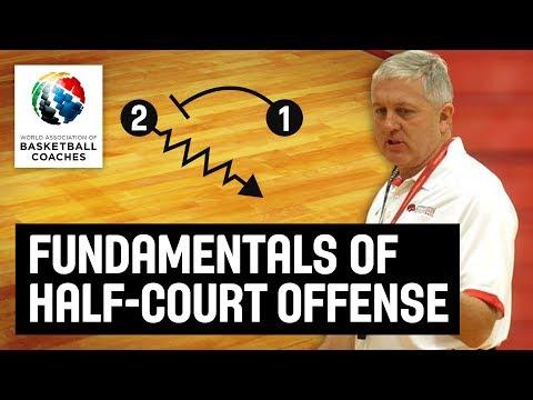 Fundamentals of Half-Court Offense - Don Showalter USA Youth Basketball - Basketball Fundamentals