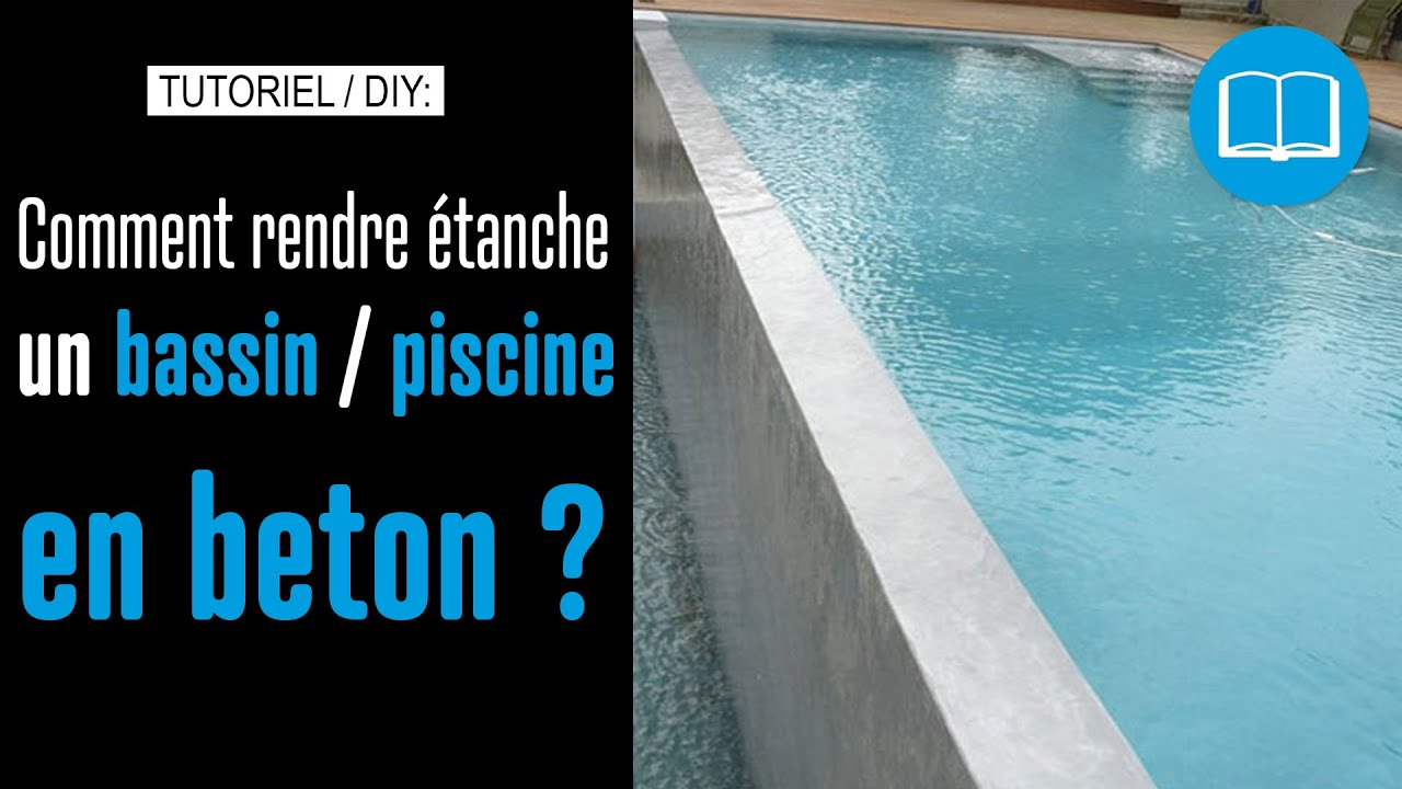 Enduit de cuvelage piscine bassin cave garage reservoir for Enduit piscine beton