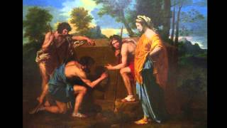 Nicolas Poussin, Et in Arcadia Ego, 1637-38, oil on canvas, 87 x 12...