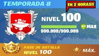 NUEVO BUG para CONSEGUIR EXPERIENCIA INFINITA y SUBIR a NIVEL 100 RÁPIDO!! FORTNITE ✨😱