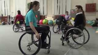 Анна Горчакова о школе танцев на колясках