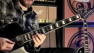 Sylosis - Leech guitar tutorial (inc solo) - Josh Middleton