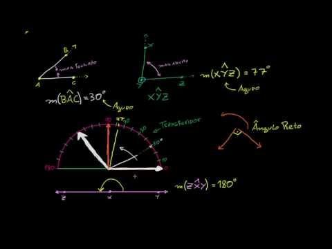Medindo ângulos em graus
