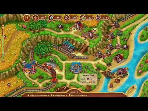 Golden Rails  Tales of the Wild West 2020 level 28 expert mode |