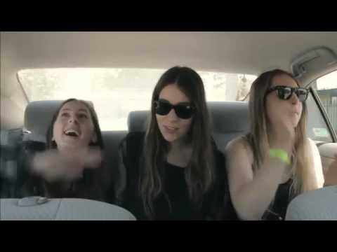 Haim - My Honey and I singing in a car