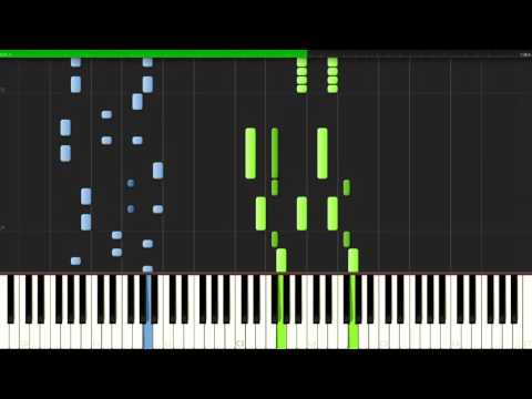 One Punch Man OP - THE HERO !! Okoreru Kobushi Ni Hi Wo Tsukero [Piano Tutorial](Synthesia)//Porqui