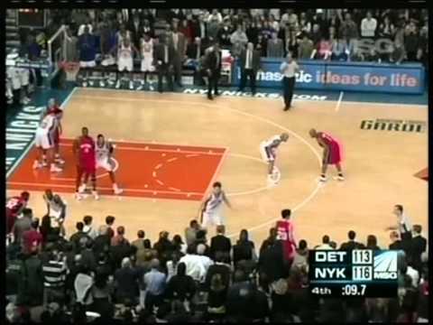 Stephon Marbury 41 pts,8 ast vs Rip Hamilton 51 pts, season 2007 knicks vs pistons