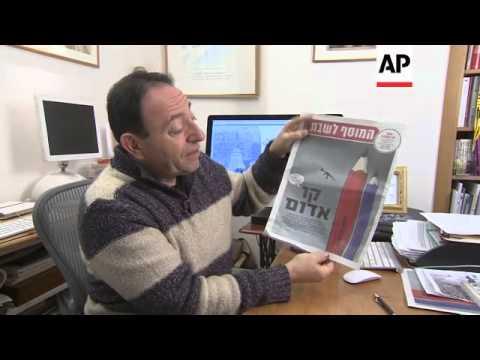 Famous Israeli Cartoonist Mourns Death Of Charlie Hebdo Friends