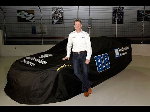 Dale Earnhardt Jr. & Nationwide Insurance #88 Announcement for NASCAR Sprint Cup Series