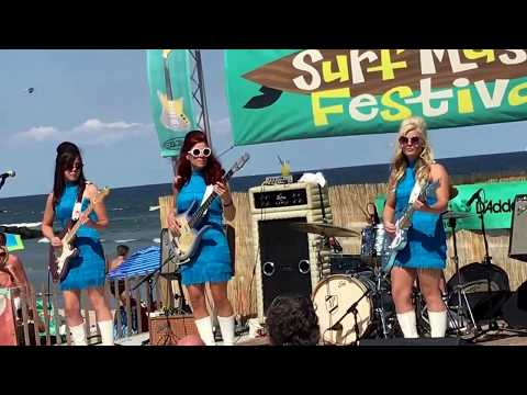 The Surfragettes - Mr. Moto/Surf Rider Medley