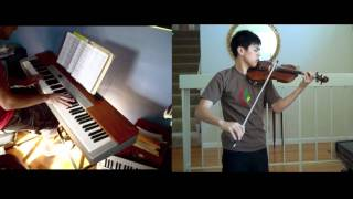 Hikari (Simple and Clean) - Kingdom Hearts - Violin, piano FT. Kyle Landry