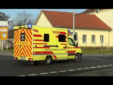 German Baby Mobile Intensive Care Unit responding | Dresden BF Baby NAW [1.2014]